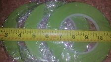 """New listing 3 Pack 1/4"""" inch x 60yd Green Painters Tape"""