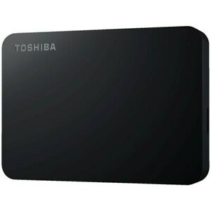Toshiba 4TB Canvio Basics Portable Hard Drive Black
