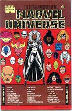 Official Handbook Marvel Universe #11, Master Edition, 1991