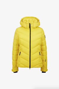 Bogner Fire Ice Sassy -D Jacket Yellow Size 2~NWT