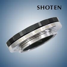 SHOTEN Lens adapter Close Focus for Leica M mount to Sony E mount NEX A7R2 A9