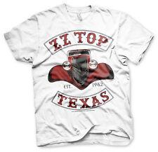 ZZ Top Texas Est. 1962 Blues Rock Band Musik Tour Männer Men T-Shirt Weiss