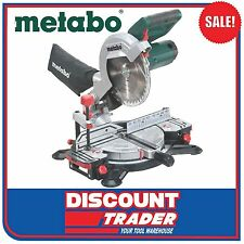 Metabo 216mm Crosscut Compound Mitre Saw - KS 216 M Lasercut - 619216190
