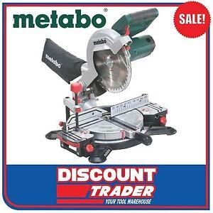 Metabo 216mm Crosscut Compound Mitre Saw - KS 216 M Lasercut - 619216190
