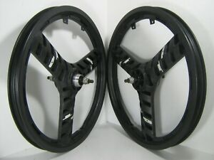 "ACS STEALTH GT PERFORMER 20"" BMX FREEWHEEL MAG WHEELS"