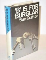 SIGNED COPY Sue Grafton 'B' Is For Burglar 1st UK Edition in D/J 1986