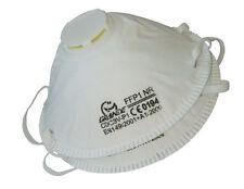 20x Atemschutzmaske Staubschutzmaske Feinstaubmaske Maske FFP1 mit Ventil