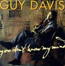 Guy Davis - You Don't Know My Mind [New CD]