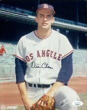 Dean Chance Los Angeles Angels Signed 8x10 Glossy Photo JSA Authenticated