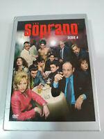 Los Soprano Cuarta Temporada 4 Completa - 4 x DVD Español Ingles