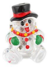 Zest Christmas Snowman Brooch Pin Badge