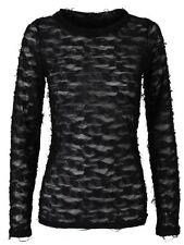 Size Regular Textured Tops & Blouses for Women