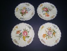 Smithsonian Italy Campagnolo Arteluce Bassano Floral FOUR Plates Hanging Holes