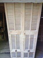 portes  persiennes  ancienne