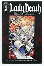 Lady Death Dragon Wars #1 Apocalypse Variant Ivan Reis Cover Signed Pulido /50