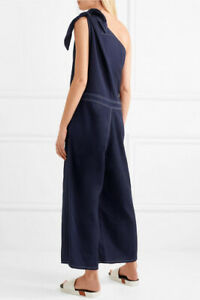 NEW WITH TAGS MAISON MARGIELA INDIGO WIDE LEG COTTON JUMPSUIT ALL IN ONE   42/10