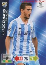 U57 IGNACIO CAMACHO MALAGA CF ESPANA CARD CHAMPIONS LEAGUE ADRENALYN 2013 PANINI