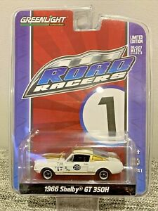 Greenlight Collectibles - Road Racers - Series 1 - 1966 Shelby GT 350H - NIB