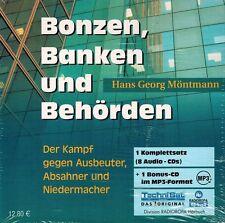 HÖRBUCH-CD-BOX NEU/OVP - Bonzen, Banken und Behörden von Hans Georg Möntmann