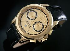 BISSET BSCX14 STRATUS II  Gold CHRONOGRAPH SWISS MADE  Men's  Watches