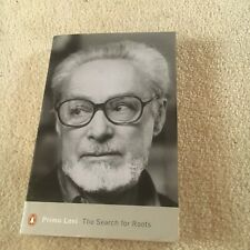 PRIMO LEVI. THE SEARCH FOR ROOTS. 0141185554