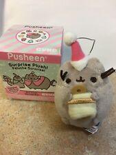 PUSHEEN CAT BELL RINGER CHRISTMAS SERIES 5 GUND PLUSH ORNAMENT! FREE SHIPPING!
