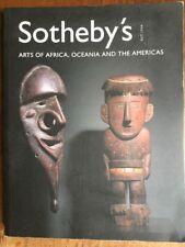 sotheby's catalogue Tribal Art New York 2001