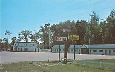Barrie Ontario Canada Greetings From Lor-Lee Motel vintage pc Z16019