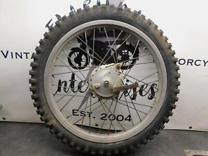 Sachs OSSA Bultaco Kawasaki?   Front Wheel Hub & Backing Plate     1542