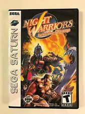 Night Warriors DarkStalkers Revenge - Sega Saturn - Replacement Case - No Game