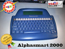 AlphaSmart 2000 Mini Portable Word Processor Tested and Working Mac & PC