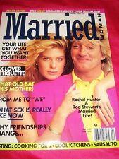 MARRIED WOMAN Rachel HUNTER Rod STEWART 1994 Premiere