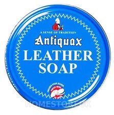 Antiquax CUOIO SAPONE pulito e preservare CAVALLO SELLA SEDILE più pulite cera 100ml