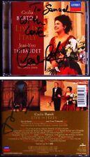 Cecilia Bartoli & Jean-Yves Thibaudet firmato LIVE IN ITALY DECCA CD 98