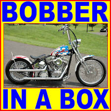 ACM RIGID BOBBER CHOPPER COMPLETE MOTORCYCLE CHASSIS BIKE IN A BOX KIT 4 HARLEY