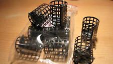 10 Stück Futterkorb mit Wirbel - Metall 10g mit deckel