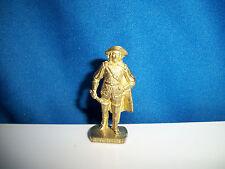 MUSKETEER #4 Brass Figurine Kinder Surprise Metal Soldier Figure SCAME GERMANY