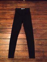 Moto Topshop Joni Jeans  Black High Waist Sz 8 W26 fit L28 Petite Defect Q~11