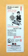 D031 - Advertising Pubblicità - 1959 - SCUOLA RADIO ELETTRA
