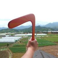 Throwback V Shaped Boomerangs Genuine Wooden Boomerang Throw Catch Outdoor Game