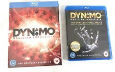 Dynamo Magician Impossible The Complete Series 1-3 & Final Series Blu-Ray Discs