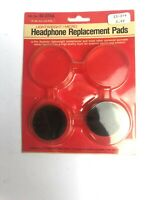 Vintage Earpads Foam Headphone Replacement Pads Realistic 33-374a Made In taiwan