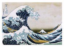 Katsushika Hokusai The Great Wave Poster100x130 cm