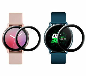 3D Film Full Cover Screen Protector Samsung Galaxy Watch Active 2 Smart Watch