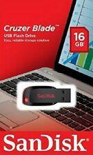 SanDisk 16GB USB 2.0 Cruzer Blade SDCZ50 USB2.0 Flash Memory Pen thumb Drive NEW