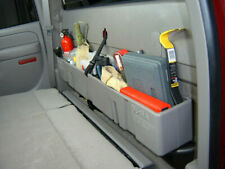 Du Ha 10023 Behind Seat Storage Console Organizer Dark Grey Fits Chevrolet/GMC