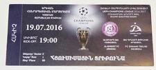 Ticket for collectors CL Alashkert Yerevan - Dinamo Tbilisi 2016 Armenia Georgia