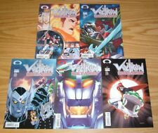 Voltron: Defender of the Universe #1-5 VF/NM complete series C set lot 2 3 4