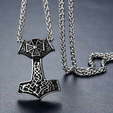 Anhänger XXL Thorhammer Iron Cross Eisernes Kreuz  Mjölnir Wikinger Odin NA28