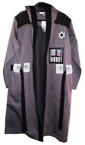 Star Wars DARTH VADER Gray Fleece BATHROBE With HOOD
